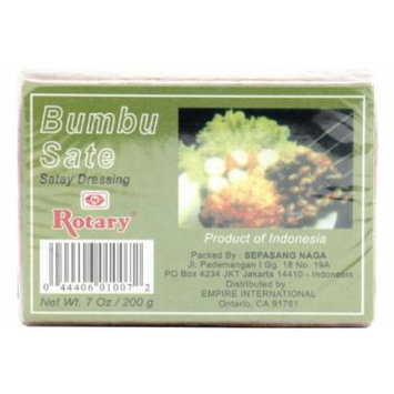 Bumbu Sate (Sate Dressing Paste) - 7oz [Pack of 3]