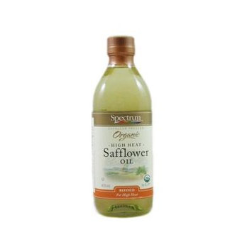 Spectrum Naturals Expeller Pressed Organic High Heat Safflower Oil (6 X 16 Fl Oz)