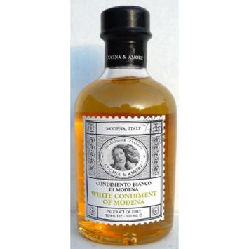 Cucina & Amore White Balsamic Condiment 500ml Modena Italy (Pack of 2)