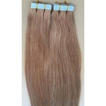18 inches 100grs,40pcs, 100% Human Tape In Hair Extensions #18 Dark Blonde
