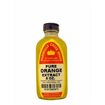 Marshalls Creek Spices Extract, Pure Orange, 8 Ounce