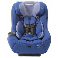Maxi-Cosi Pria 70 Convertible Car Seat with Easy Clean Fabric and BONUS 20 Ounce Flavor Infusing Water Bottle, Blue Base