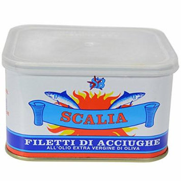 Anchovy Filets in Extra Virgin Olive Oil - 1 can - 24.7 oz