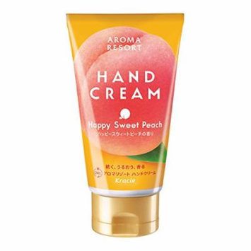 Kracie Aroma Resort Sweet Peach Hand Cream