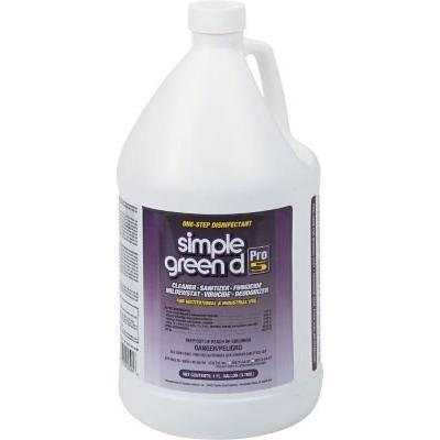 Simple green d® Pro 5 One Step Disinfectant, Unscented, 1 gal.