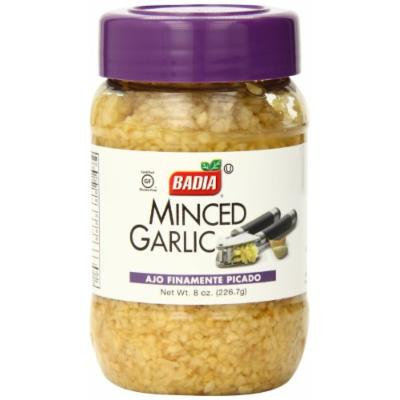 Badia Minced Garlic in Water, 8 Ounce (Pack of 12)
