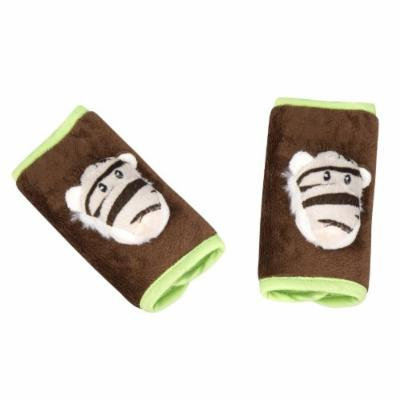 Animal Planet Strap Covers, White Tiger, Infant Car Seat Strap Covers, Baby Seat Belt Covers, Stroller Accessories, Head Support, Shoulder Pads