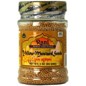 Rani Yellow Mustard Seeds 3.5oz (100g)