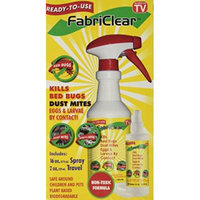 Fabriclear package of 16 OZ SPRAY & 2 OZ TRAVEL SIZE