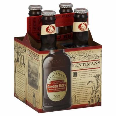 Fentimans Ginger Beer 9.3 oz. 4-Count (Pack of 6)