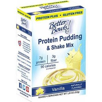Better Bowls Sugar Free, Vanilla Pudding, 1.8 Ounce (Pack of 6)