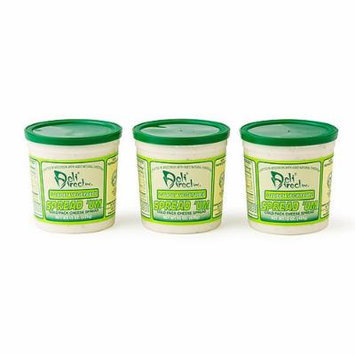 Wisconsin Cheese Spread - Garden Vegetable (3 Pack of 15oz. Each Containers)