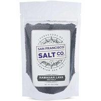 Hawaiian Black Lava Finishing Salt (5oz pouch Fine Grain)