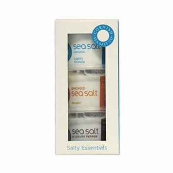 Cornish Sea Salt - Salty Essentials Triple Pack - 210g