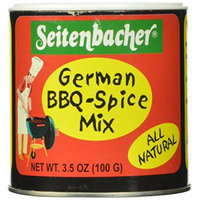 Seitenbacher German BBQ-Spice Mix, 3.5-Ounce Packages (Pack of 6)