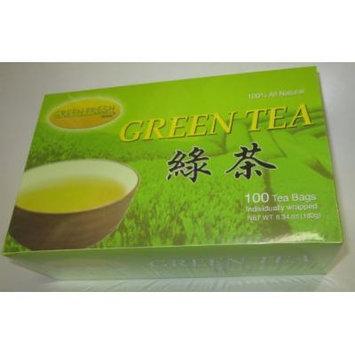 Green Tea Bags 100 Bags