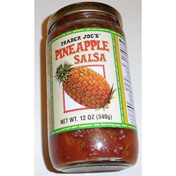 Pineapple Salsa 2 Bottles Each 12 Oz Trader Joes