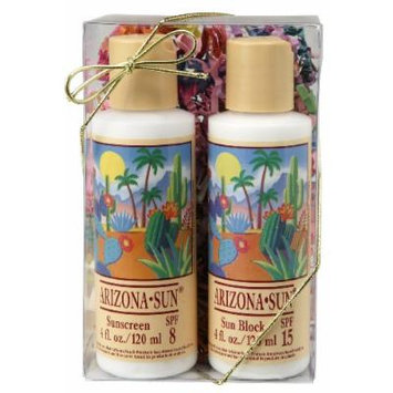 Arizona Sun - 4 oz Gift Set - Choose Any 2 Sun Protection Products - Skincare - Skin Care Idea - Soothing - Moisturizing - Great Gift For Anyone - Any Occasion - Birthday - Holiday
