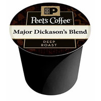 Peet's Coffee & Tea Coffee Major Dickason's Blend K-Cup Portion Pack for Keurig K-Cup Brewers, 22 Count
