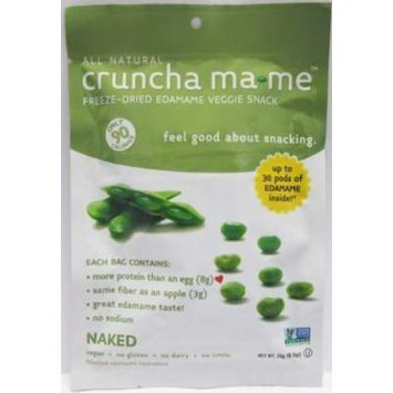 Cruncha Ma me Freeze Dried Edamame Veggie Snack Naked0.7 Oz Each / (Pack of 8) - Pack Of 8
