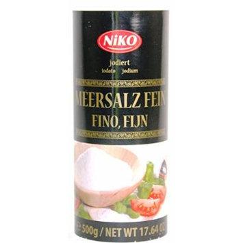 NIKO Fine Iodized Sea Salt 500g