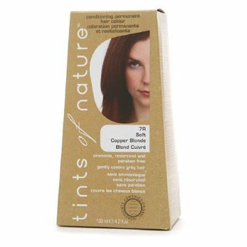 Tints of Nature Conditioning Permanent Hair Color, Soft Copper Blonde 7R 4.2 fl oz (120 m)