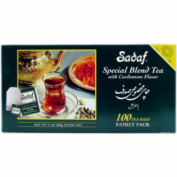 Sadaf Special Blnd Tea Cardamom, 100-Count (Pack of 2)