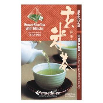 Maeda-En Genmaicha Tea Bags, 10-Ounce