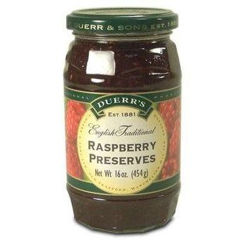 Duerrs Raspberry Preserves - 12oz