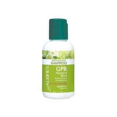 GPB Rosemary Peppermint Shampoo Aubrey Organics 2 oz Liquid