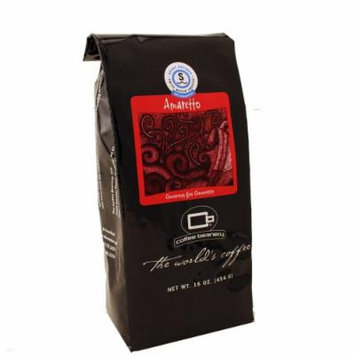 Coffee Beanery Amaretto Flavored Coffee SWP Decaf 16 oz. (Whole Bean)
