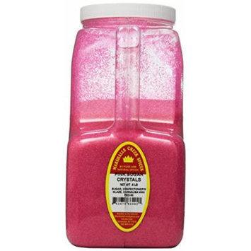 Marshalls Creek Spices Sugar Crystals, Pink, XX-Large, 8 Pound
