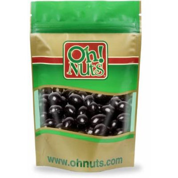 Black Jordan Almonds 2 Pound Bag - Oh! Nuts
