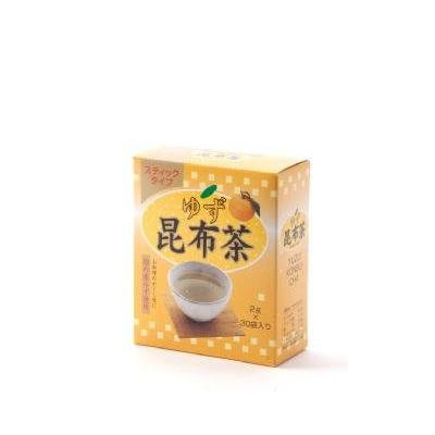 Japanese Tea Citron Seaweed Drink From Kyoto 2gx30sticks