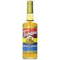 Torani Creme Caramel Syrup, 750 ml