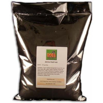 Bubble Boba Drink Mocha Frapp Powder Mix, 4 lbs (1.81kg) BAG