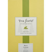 Tea Forté® EVENT BOX Black Currant BlackTea, 48 Handcrafted Pyramid Tea Infusers