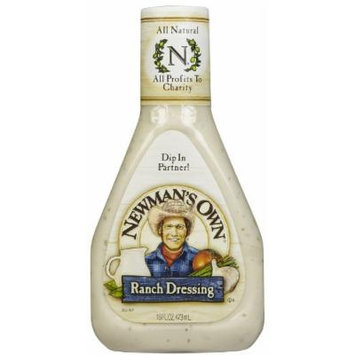 Newman's Own Ranch Salad Dressing 16 oz