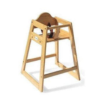 Foundations - Classic Wood High Chair, Natural