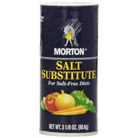 Morton Salt Substitute for Salt-Free Diets, 3.125-Ounce Shakers (Pack of 12)