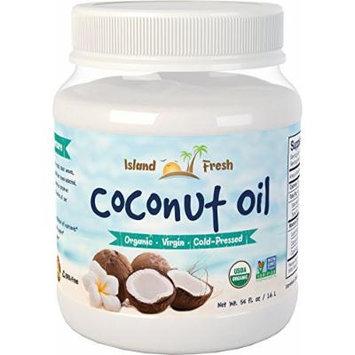 Island Fresh Superior Organic Extra Virgin Coconut Oil, 54 Ounce