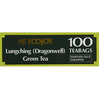 Foojoy Lungching Green Tea 100 Tea Bags