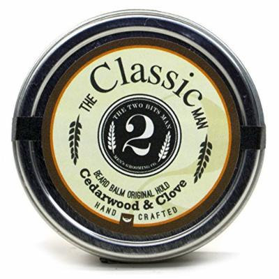 The Classic Beard Balm - Cedarwood and Clove - Essential Oil Scented Beard Conditioner Beard Balm by The 2Bits Man