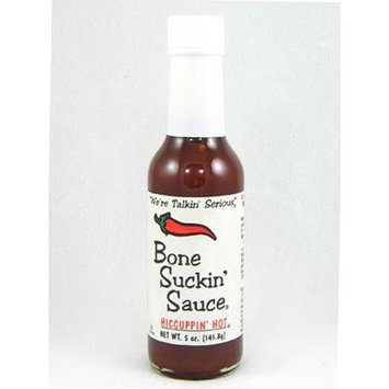 Bone Suckin' Hiccuppin' Hot Sauce (Pack of 6)