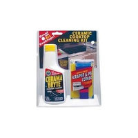 Ge Cerama Bryte Cooktop Cleaner and Scraper & Pad Kit 27068