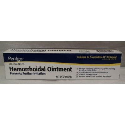 Hemorrhoidal Ointment Generic For Preparation H 2 oz (57g)