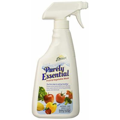 Environne Purely Essential Fruit and Vegetable Wash, Unscented, 16 Ounce