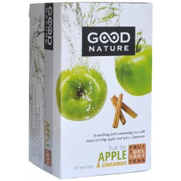Good Nature Apple & Cinnamon Fruit Tea, 1.4 Ounce