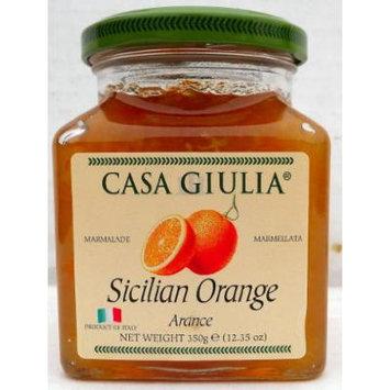 Casa Giulia (12 pack) Sicilian Orange Marmalade 12.35 oz jars from Italy