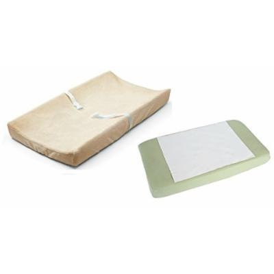 Summer Infant Ultra Plush Change Pad Cover with Waterproof Pad, Ecru